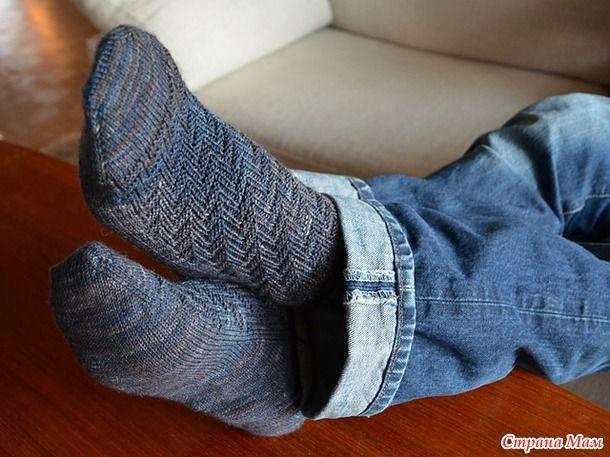Вяжем вместе носочки Escalator Socks by Sara Amoroso