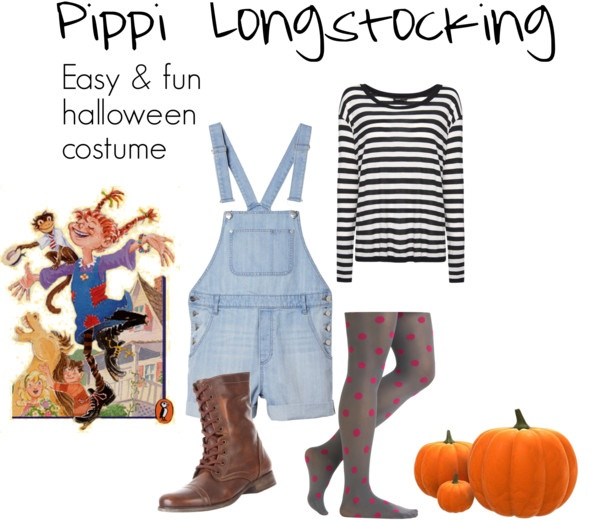 Halloween Costume - Pippi Longstocking