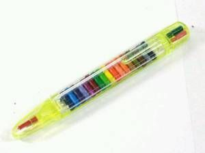 Colored pencil pen -- I had forgetten all about these.  Loved them!!