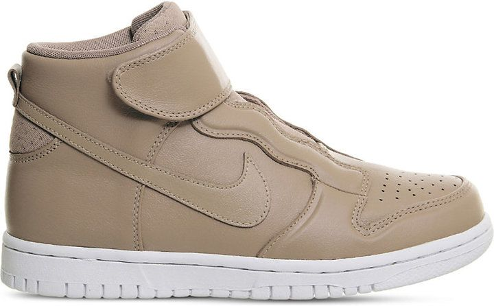 Nike Dunk High Ease leather high-top trainers