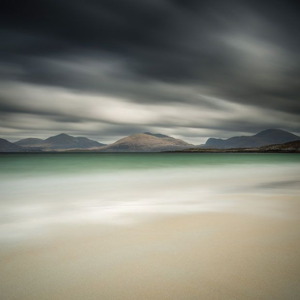 The North Harris Hills, Scotland.  Picture: Dudley Williams / Rex Features.