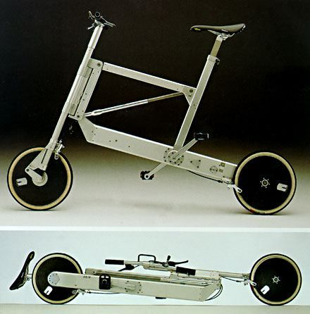 Richard Sapper - folding bicycle