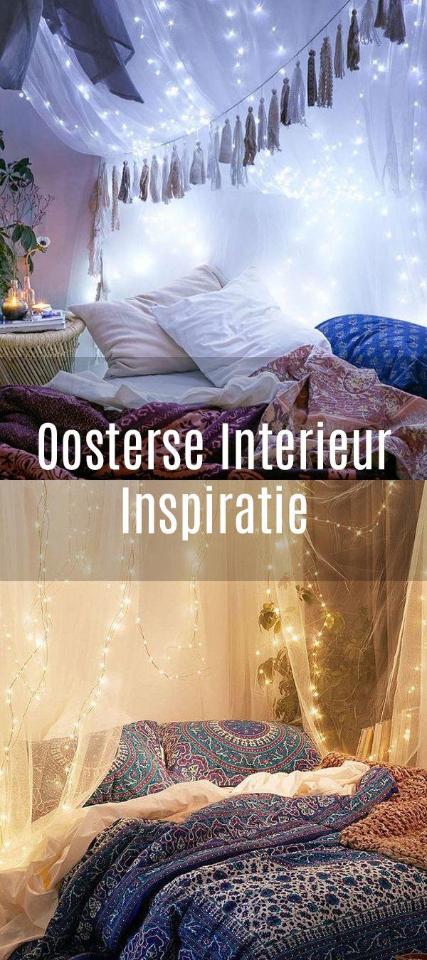 Prachtige oosterse slaapkamers om letterlijk bij weg te dromen