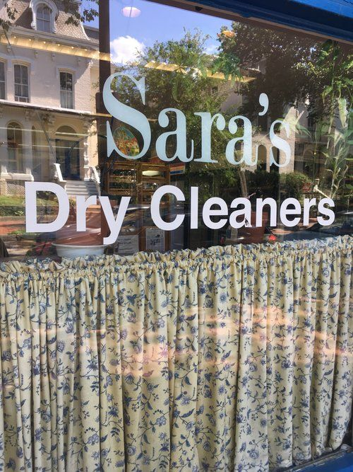 Dry cleaner in which served as inspiration for