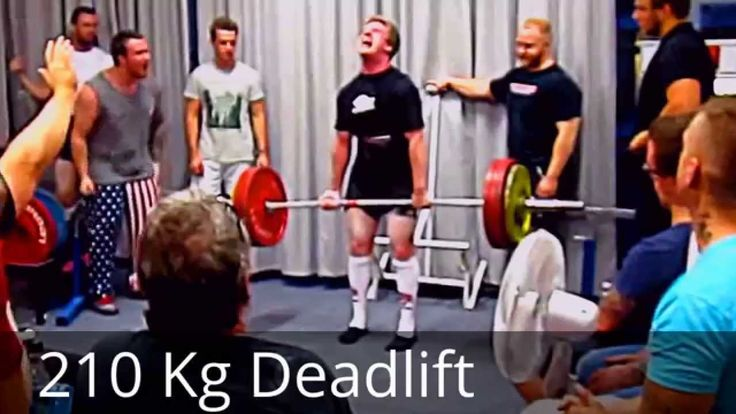 210 kg Powerlifting by AG