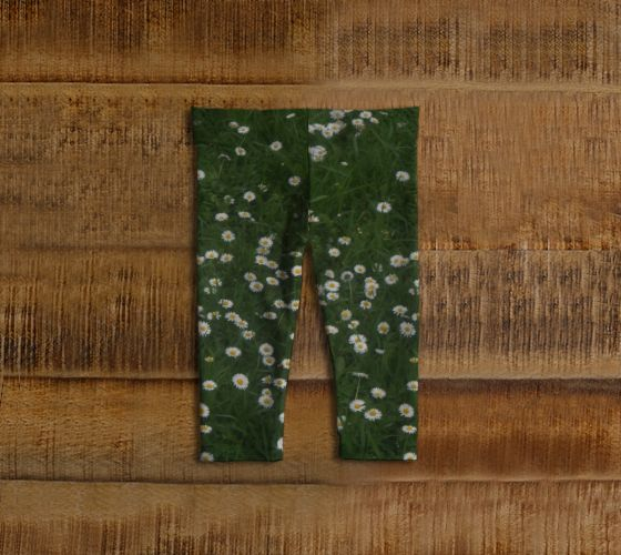 Daisies Baby Leggings - Available Here: http://artofwhere.com/shop/product/73060