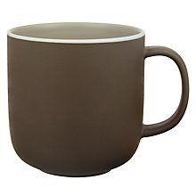 Buy John Lewis Puritan Mug, 0.3L, Mocha Online at johnlewis.com