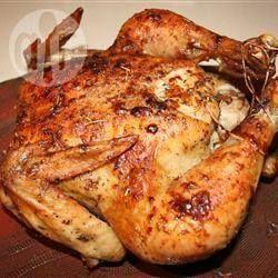 Foto de la receta: Pollo al horno perfecto con hierbas
