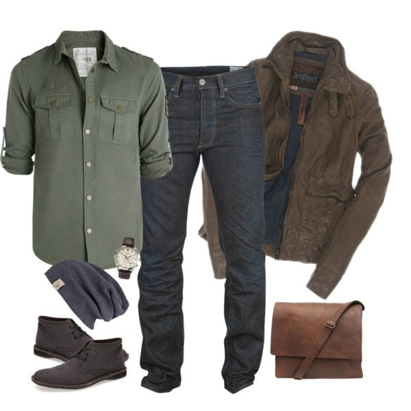 """""""Man WIth A Purpose"""" by elise-olivia on Polyvore"""