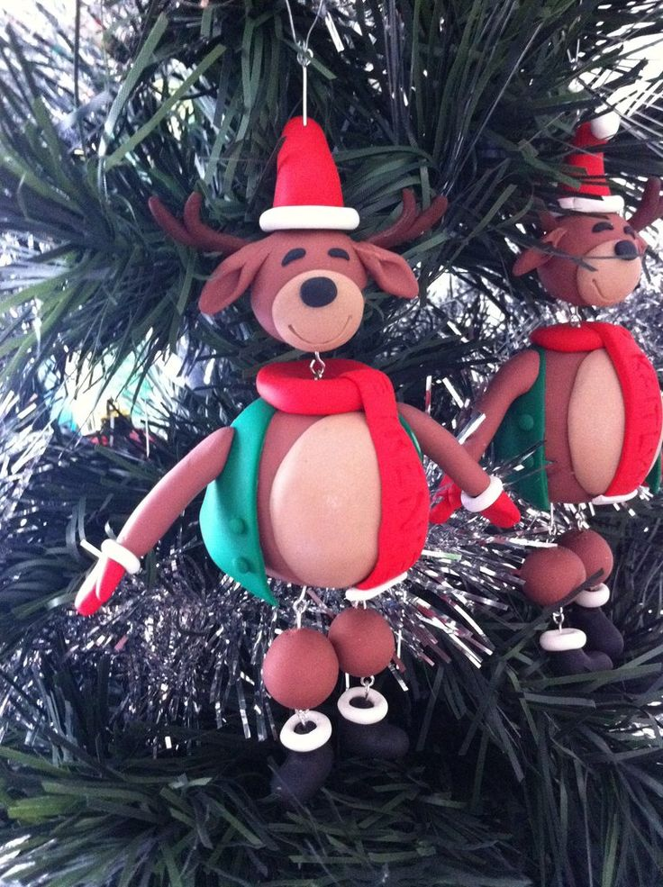 Reindeer Tree Decoration (personalised)