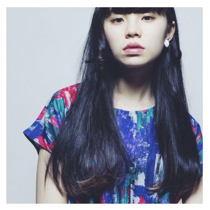 HAIR STYLIST▶kilico./Maiko Sato  #CYAN #CYANMAG #HAIR #HAIRSALON #LONGHAIR #ロング