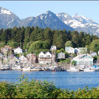 Sitka,Alaska. My favorite port on our Alaskan cruise!