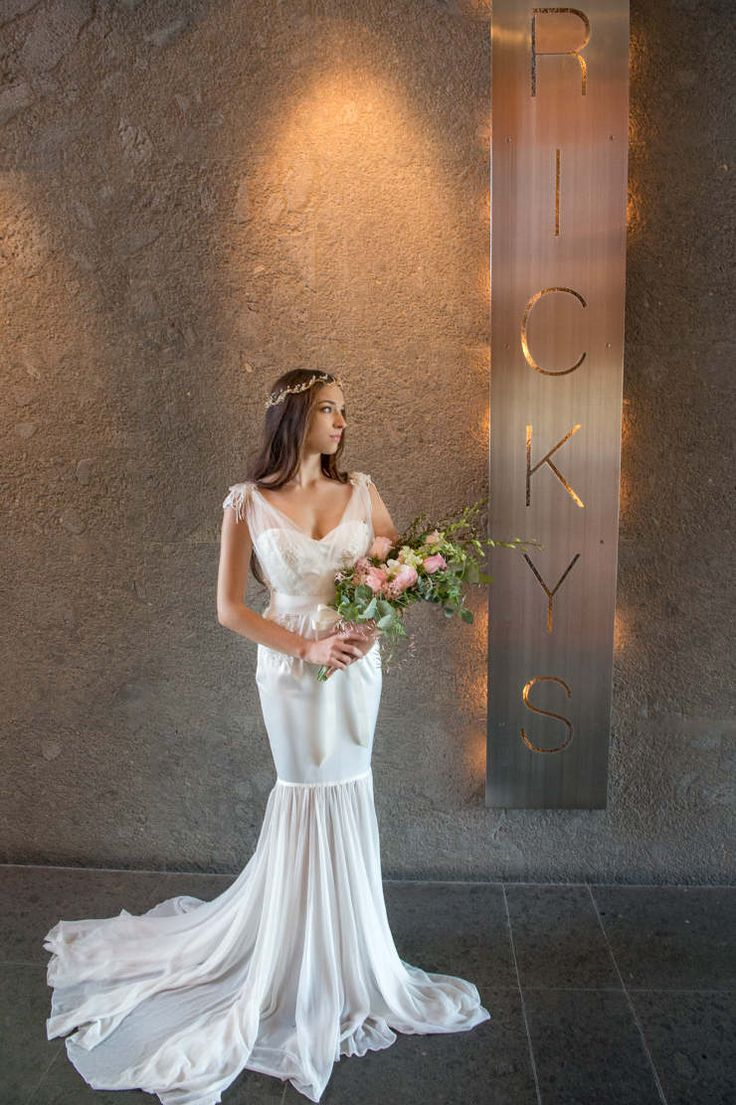 Rickys River Bar + Restaurant on the Noosa River.  Love the textures and colours in this photograph.  Photo credit: Nicky Stone (Pomegranate Photography); Gown by Aleksandrovna Bridal Collection and flowers by Wendy's Flowers and Event Hire.  Follow the link to see more gorgeous photos...  http://www.itsmywedding.com.au/noosa-wedding-venue-rickys/