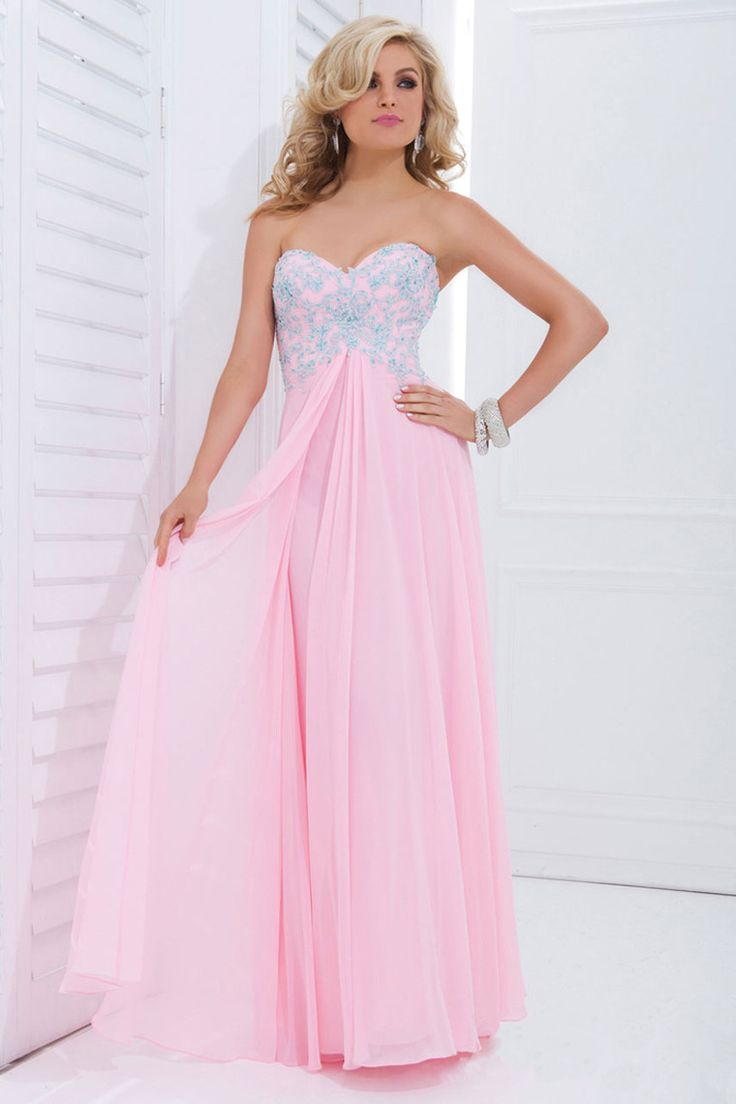 2014 Sweetheart A Line Prom Dress Chiffon Embellished With Beads And Appliquehttp://www.elleprom.com/2014-Sweetheart-A-Line-Prom-Dress-Chiffon-Embellished-With-Beads-And-Applique