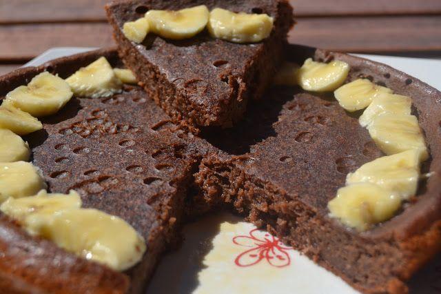 Tarta de chocolate y plátano: 14 pp. toda