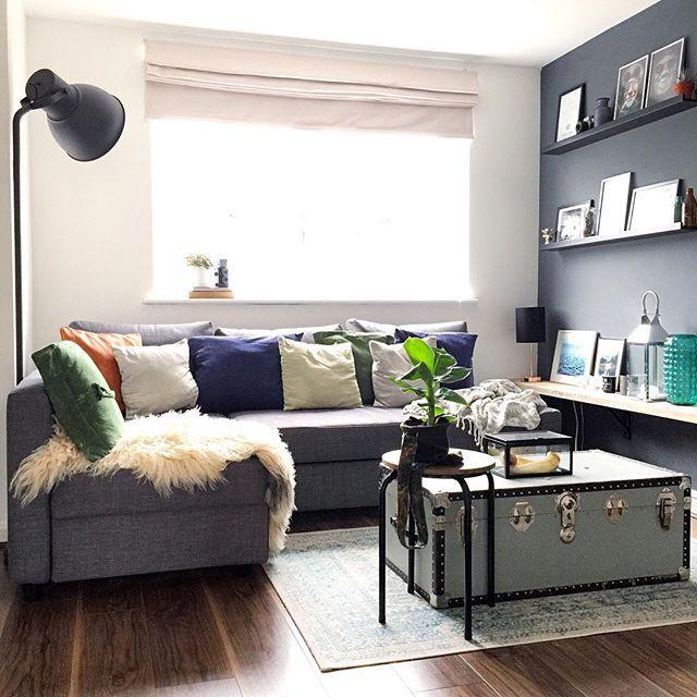 les 25 meilleures id es de la cat gorie ikea friheten sur pinterest canap d 39 angle convertible. Black Bedroom Furniture Sets. Home Design Ideas
