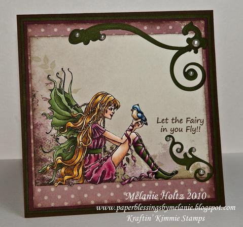 Bird Fairy - $7.50 : Kraftin Kimmie Stamps