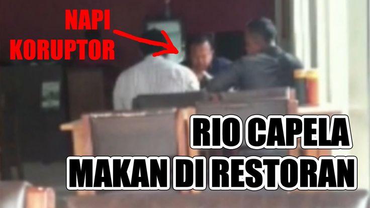 VIDEO AMATIR RIO CAPELLA MAKAN DIRESTORAN