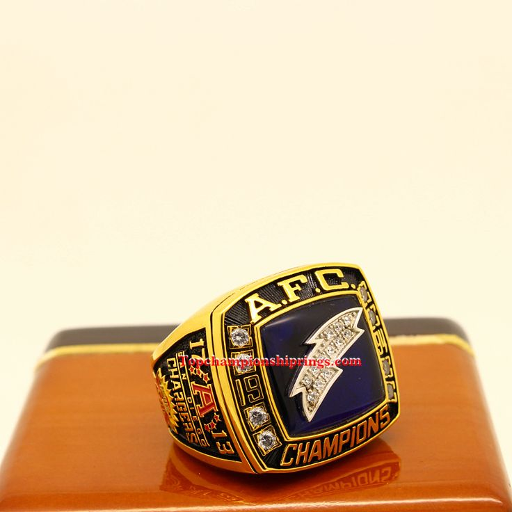 San Diego Chargers Championships: 77 Best AFC Championship Ring Images On Pinterest