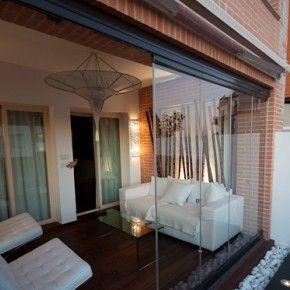 Las 25 mejores ideas sobre cortinas de porche en pinterest - Cortinas para porche exterior ...