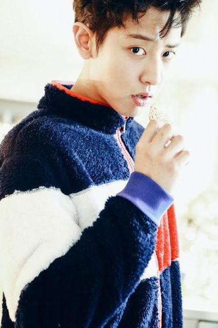 Devilspacezhip: [PICS] ChanYeol's Collaboration with The Fashion B...