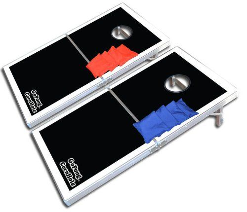 {Quick and Easy Gift Ideas from the USA}  GoSports CornHole PRO Regulation Size Bean Bag Toss Game Set (Black) http://welikedthis.com/gosports-cornhole-pro-regulation-size-bean-bag-toss-game-set-black #gifts #giftideas #welikedthisusa