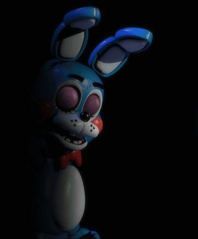 Soy yo o toy bonny tiene un ojo azul y uno verde :/