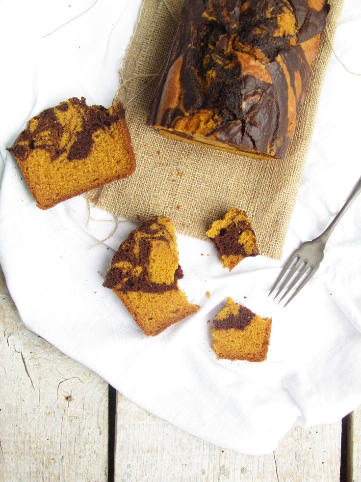 Butternut squash and chocolate swirl bread, in love with it :)