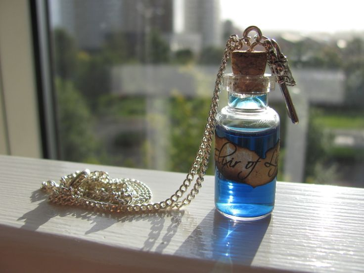 'Elixir Of Life' Potion Necklace