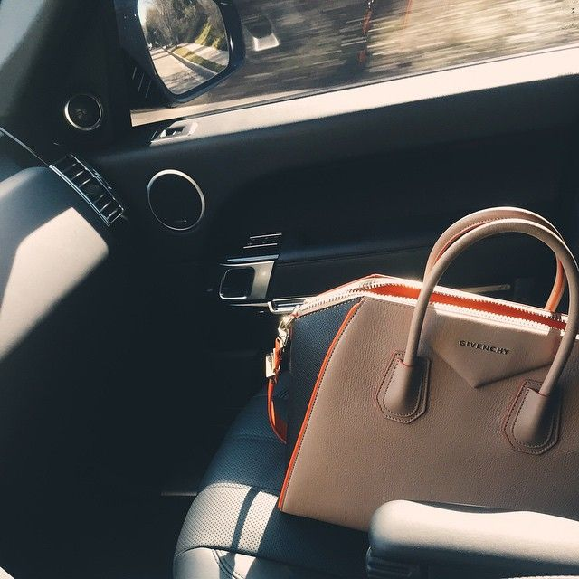 """""""just me and you today, babe.""""  ✔️This bag though, love..."""