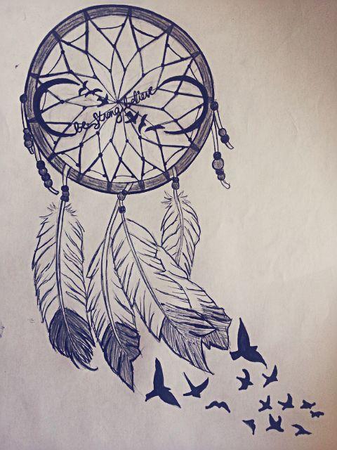 Beautiful dream catcher drawing | Drawings | Pinterest ...