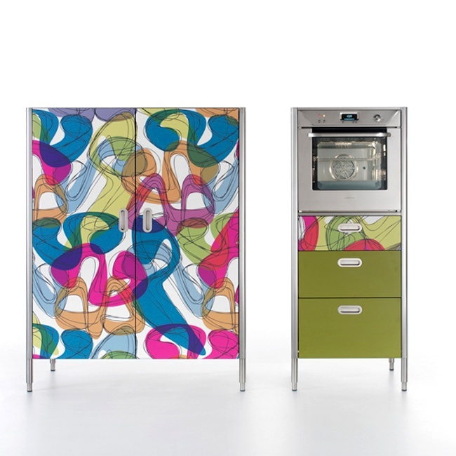 17 migliori idee su mobile cucina in rovere su pinterest rifacimento armadio di rovere - Laminati per cucina ...