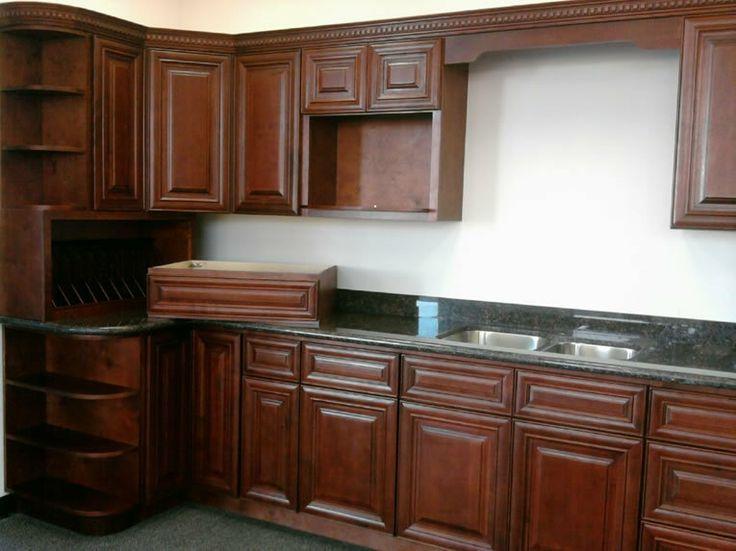 Mahogany Maple Kitchen Cabinet Set Maple Kitchen Cabinets Kitchen Set Cabinet Kitchen Cabinets