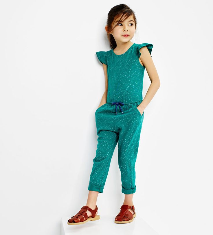 Polka dot jumpsuit-View All-DRESSES AND JUMPSUITS-GIRL | 4-14 years-KIDS | ZARA United States