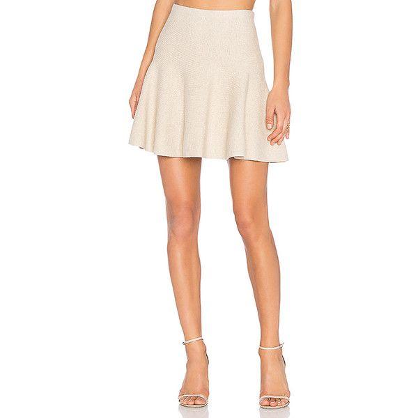 1. STATE Flounce Mini Skirt ($81) ❤ liked on Polyvore featuring skirts, mini skirts, short cotton skirts, frilled skirt, frilly skirts, short mini skirts and ruffle mini skirt
