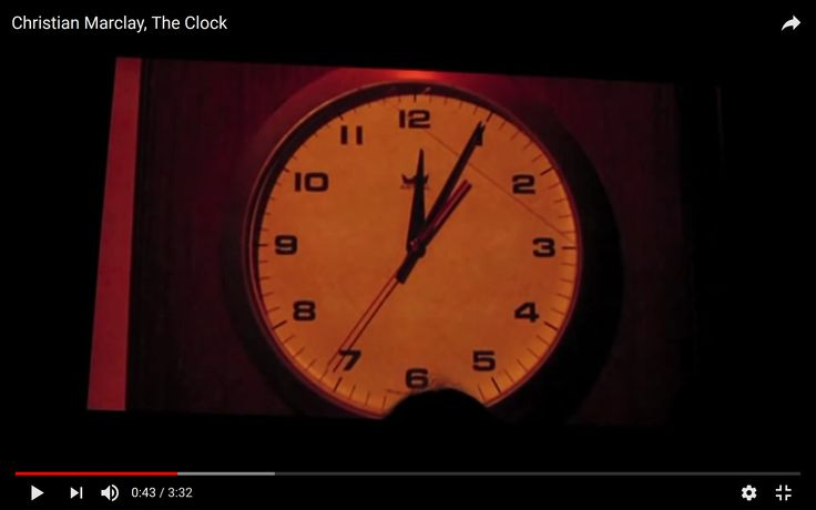 christian marclay - the clock