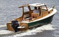Ahşap amatör balıkçı gezi teknesi, resim 1