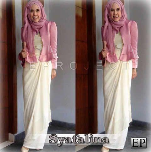 Baju Maxi Syafalina Set R801