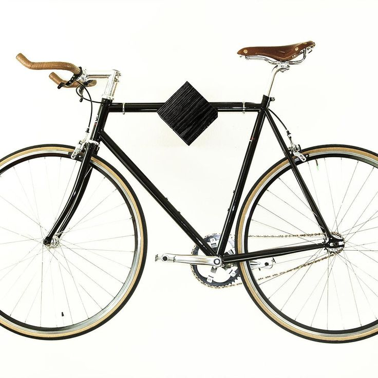 A clean and elegant way to store your bike.