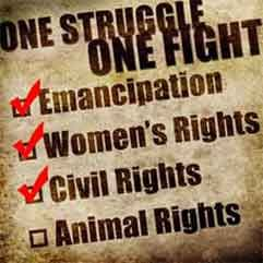 PLEASE RePin! Help stop animal cruelty: slaves rights, womens rights, animal rights will come, but ONLY if people help! Click on photo to read about what you can do!