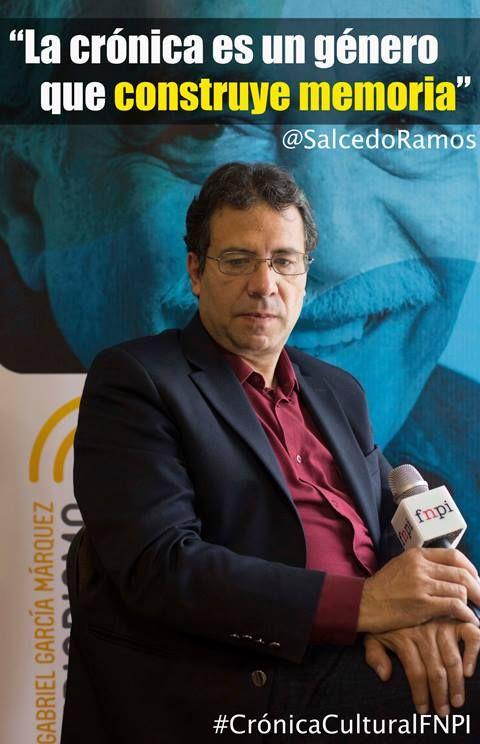 Seguimos construyendo los significados de crónica desde Medellín. En una entrevista con Alberto Salcedo Ramos, el maestro habló de su oficio, de la crónica, de la formación de nuevos escritores y de periodismo cultural.   + Pronto la estaremos publicando en el blog Taller de Periodismo Cultural www.fnpi.org/periodismocultural2014/