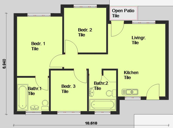 Free house plan pictures