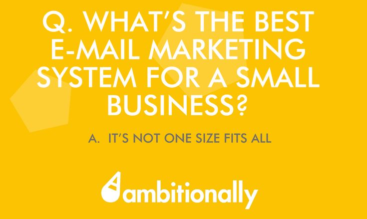A Review of the Various Email Marketing Systems out there.