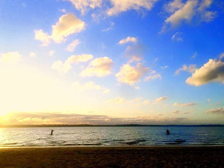 the perfect end to a perfect day T>G>I>F #missionbay #auckland #newzealand #hgh #lad summer is finally here #lifeisgood