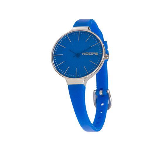 Christmas gift, Jewelry gift, Birthday gift, Funky jewelry Unique jewelry watch, Women wrist watch, Bracelet watch Clean design watch - Royal Blue