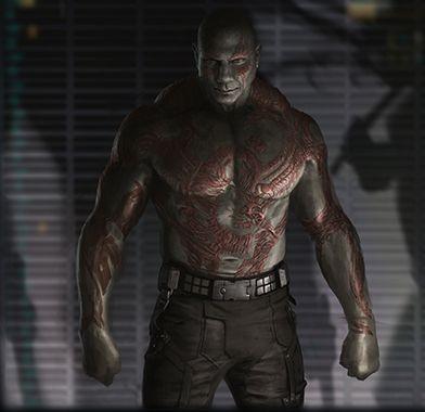 Batista as Drax the Destroyer - http://www.wrestlesite.com/wwe/batista-drax-destroyer/