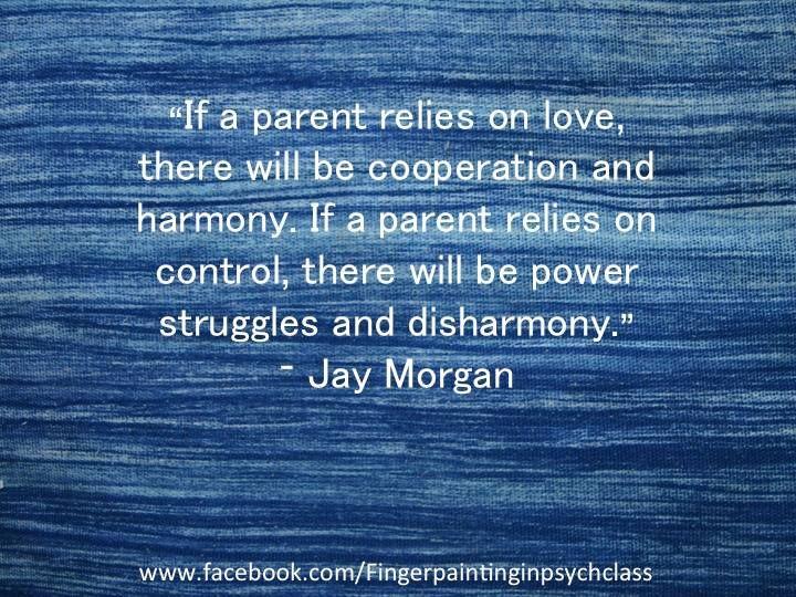 Unconditional Parenting.