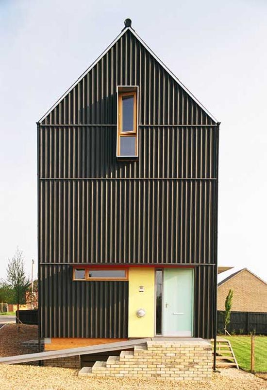 Mole Architects | Black House | Cambridgeshire, England | 2004 |  http://www.molearchitects.co.uk