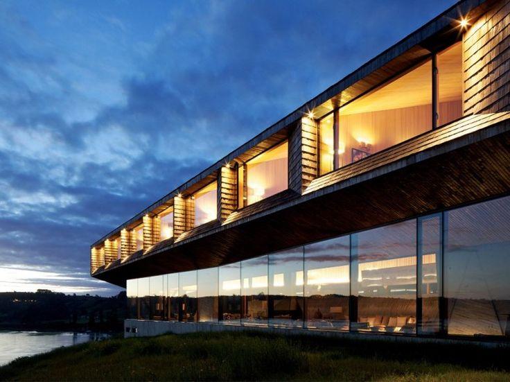 The Best New Hotels to Splurge On: Hotel Refugia - Chiloé, Chile   Condé Nast Traveler - April 18, 2013