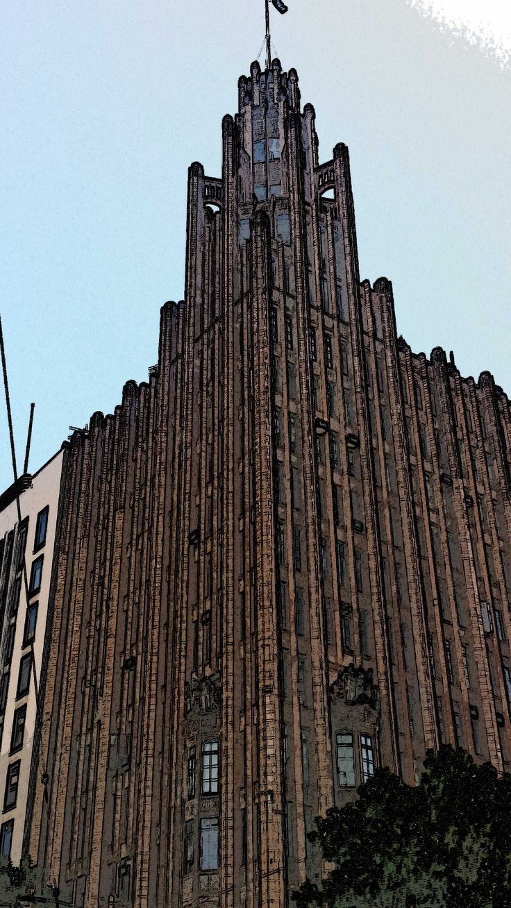 Manchester Unity Building - crn Collins & Swanston Streets - NW corner